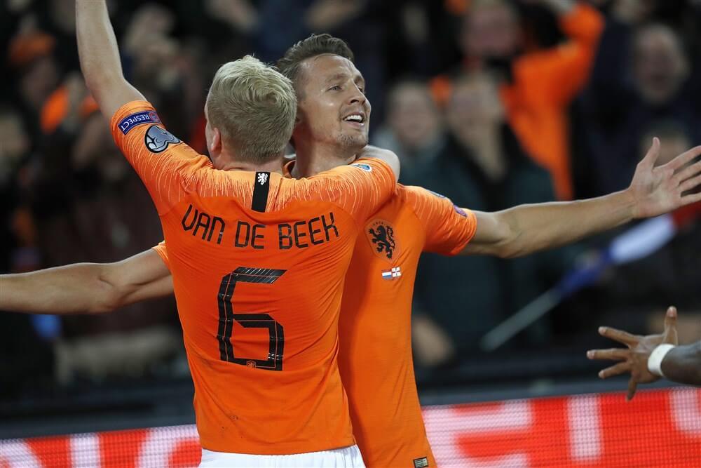 Oranje met Donny van de Beek en Daley Blind te sterk voor Noord-Ierland; image source: Pro Shots