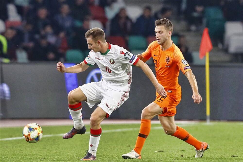 Oranje wint in Wit-Rusland met vier Ajacieden in de basis; image source: Pro Shots