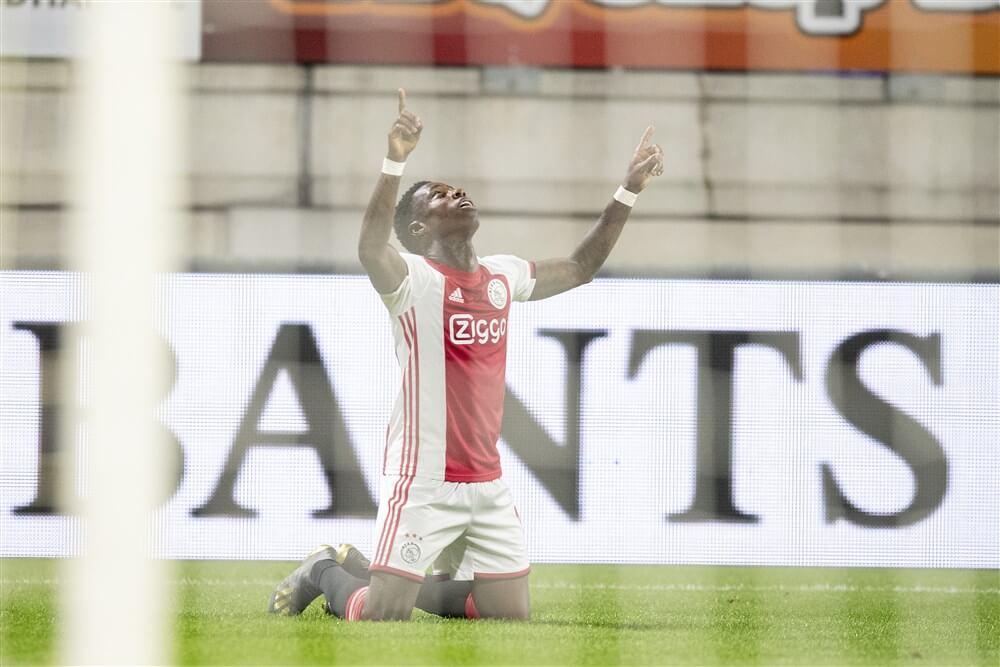 Lankmoedig Ajax komt door portie geluk en Quincy Promes met schrik vrij in Waalwijk: 1-2; image source: Pro Shots