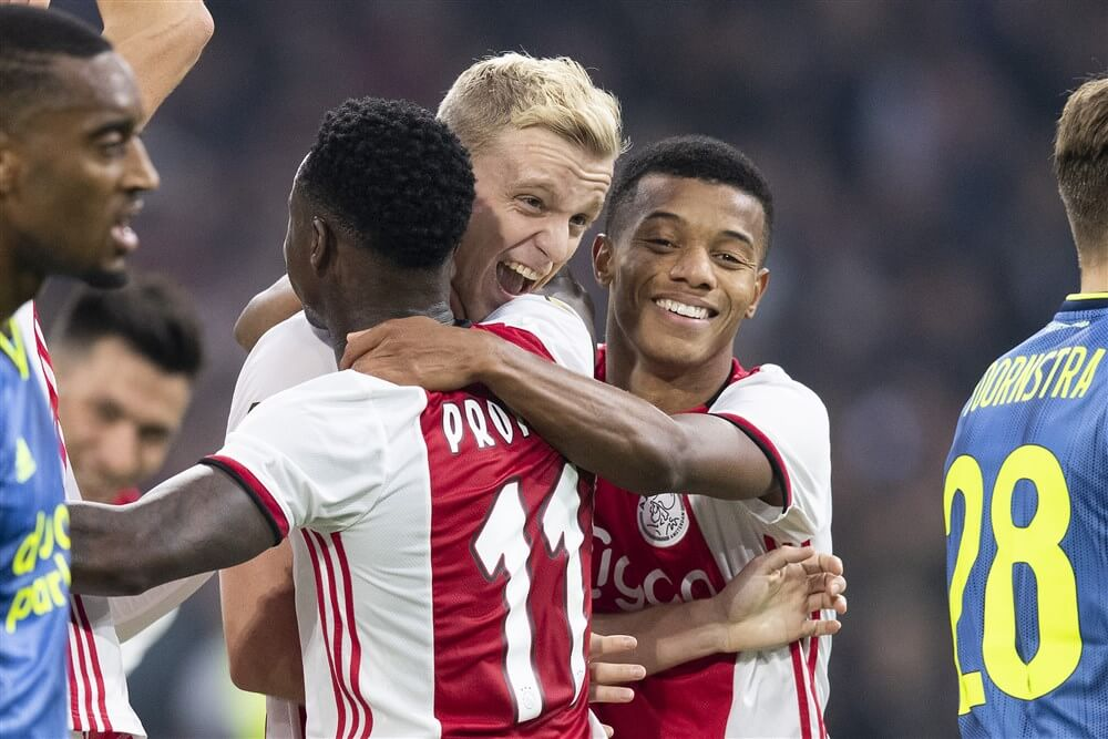 Ajax walst over Feyenoord heen en is genadig met 4-0; image source: Pro Shots