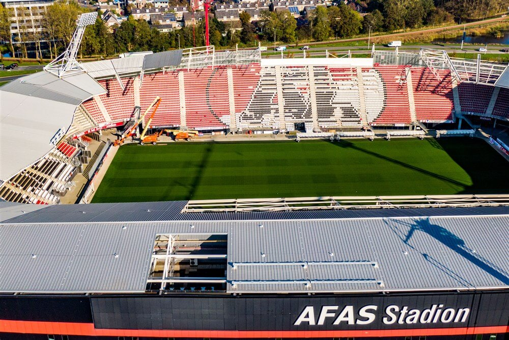 "[Update] ""AZ - Ajax vooralsnog zonder publiek""; image source: Pro Shots"