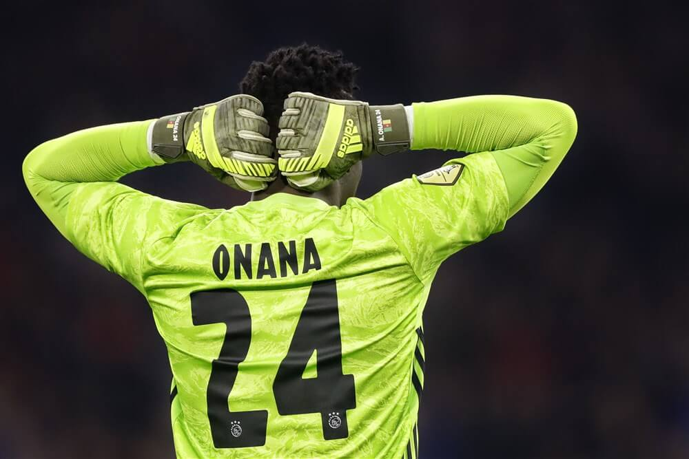 Geen Lev Yashin Award voor André Onana; image source: Pro Shots