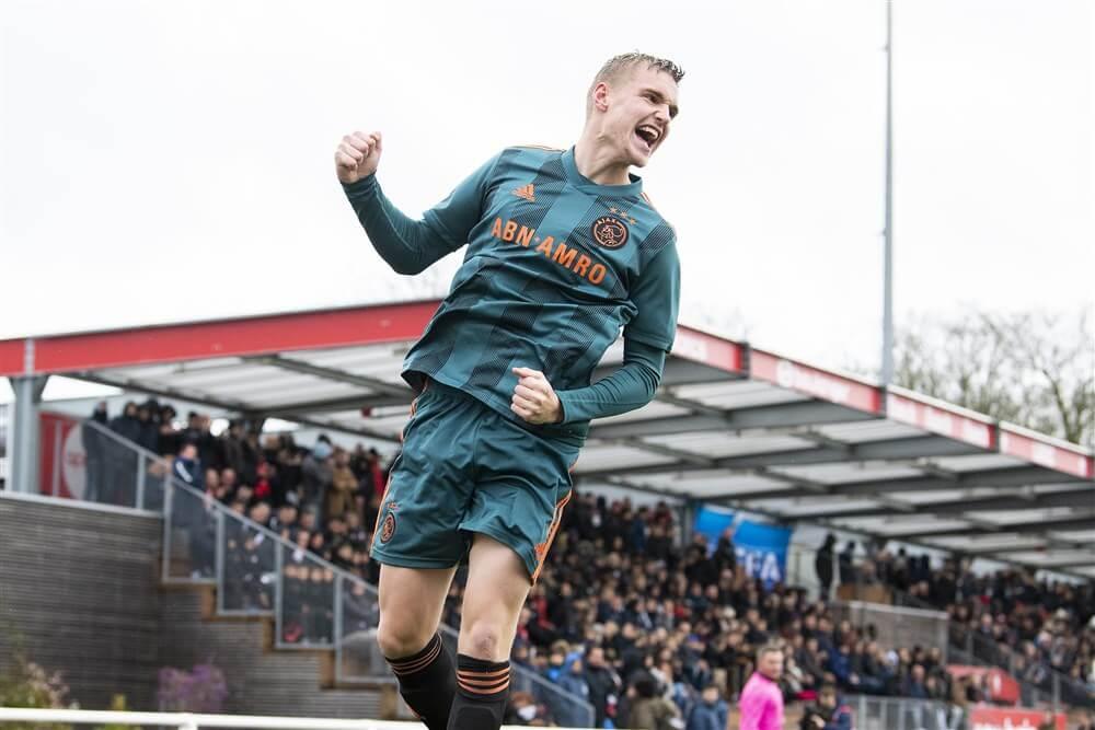 Ajax onder 19 door naar volgende ronde in UEFA Youth League na winst tegen Lille; image source: Pro Shots