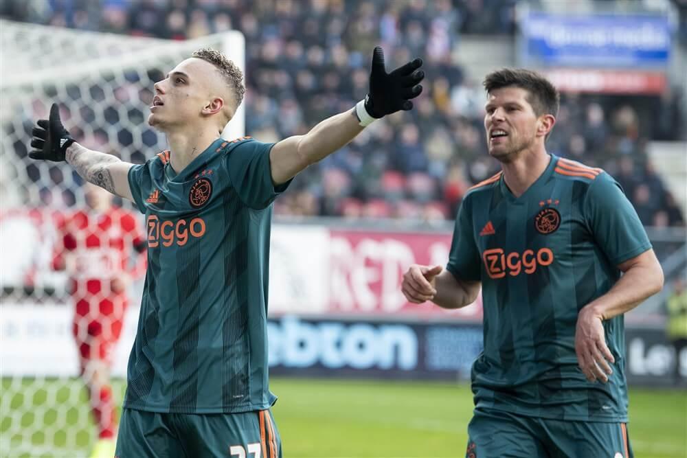 Heldenrol voor Noa Lang bij zege van Ajax tegen FC Twente; image source: Pro Shots