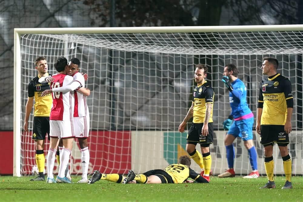 Jong Ajax stijgt naar tweede plek na winst tegen Roda JC; image source: Pro Shots