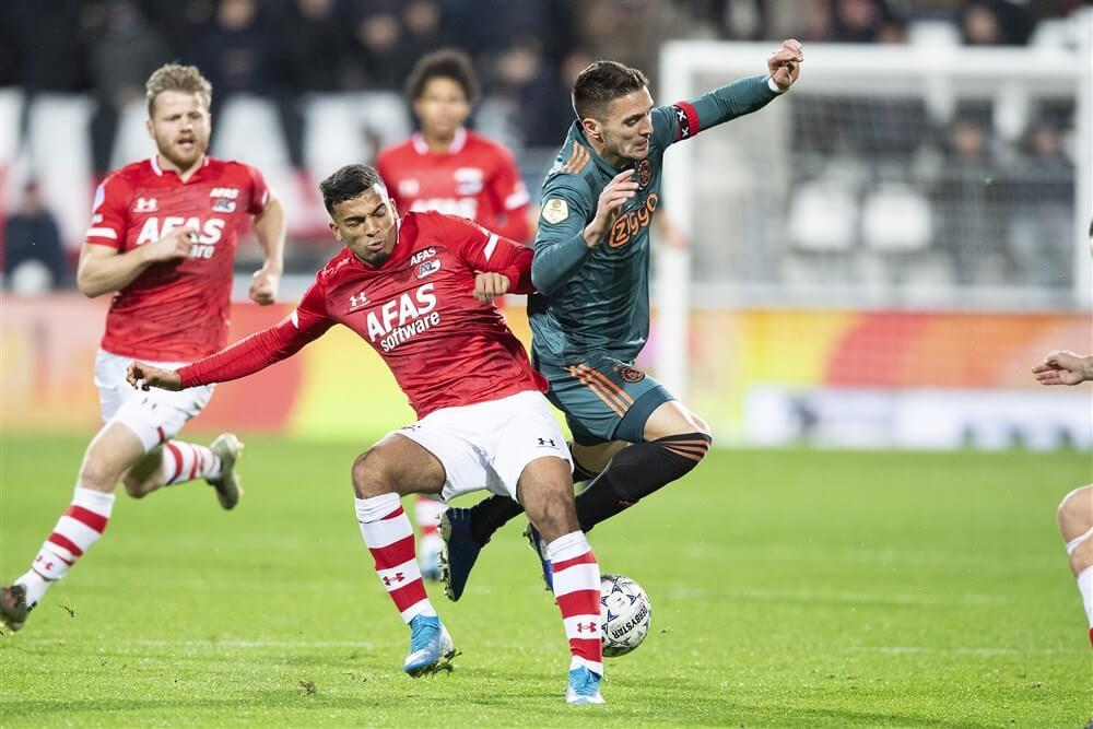 Flink verzwakt Ajax verliest in laatste minuut in Alkmaar; image source: Pro Shots