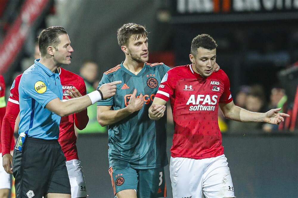 """[Update] Reactie KNVB: """"Wij houden de ranglijst aan en op nummer één staat Ajax""""; image source: Pro Shots"""