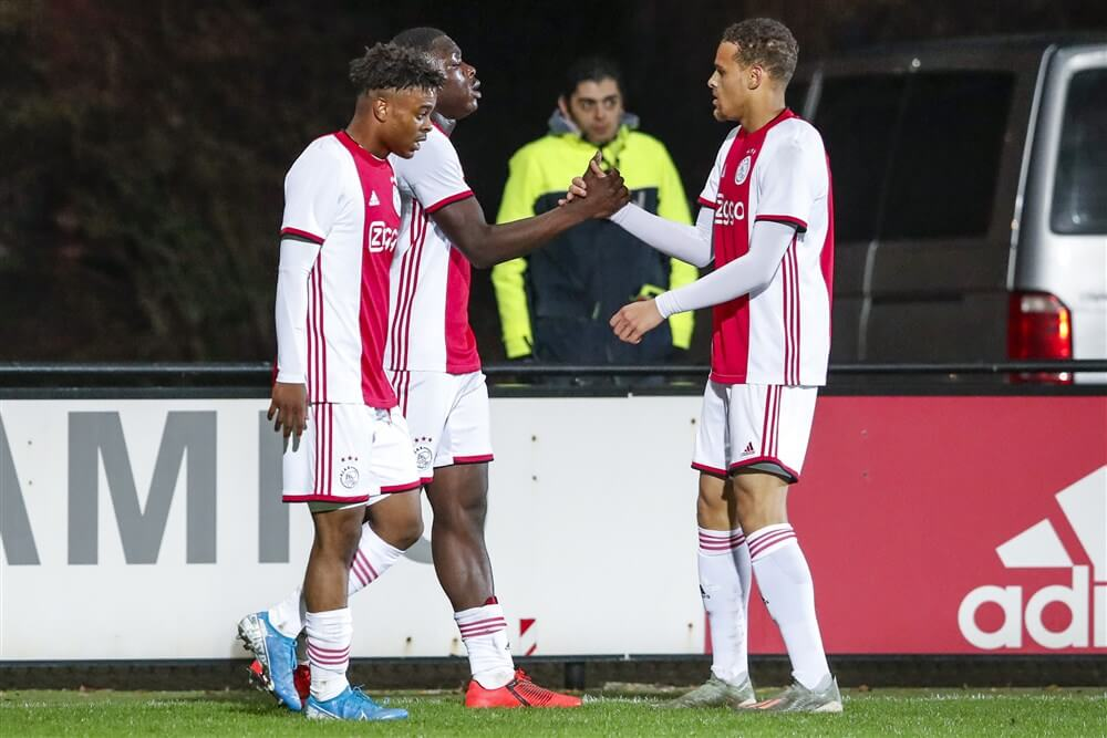 Jong Ajax eindigt 2019 met winst tegen TOP Oss; image source: Pro Shots