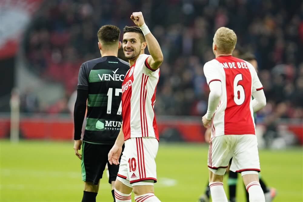 """Dusan Tadic: """"We moeten de fans en iedereen die van Ajax houdt gelukkig maken""""; image source: Pro Shots"""