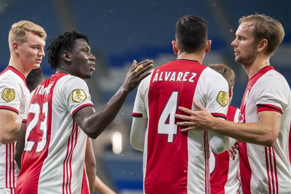 Ajax te sterk voor KAS Eupen in oefenwedstrijd; image source: Pro Shots