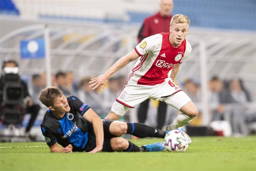 """Donny van de Beek: """"Al vaker gezegd dat ik dit seizoen gewoon bij Ajax speel""""; image source: Pro Shots"""