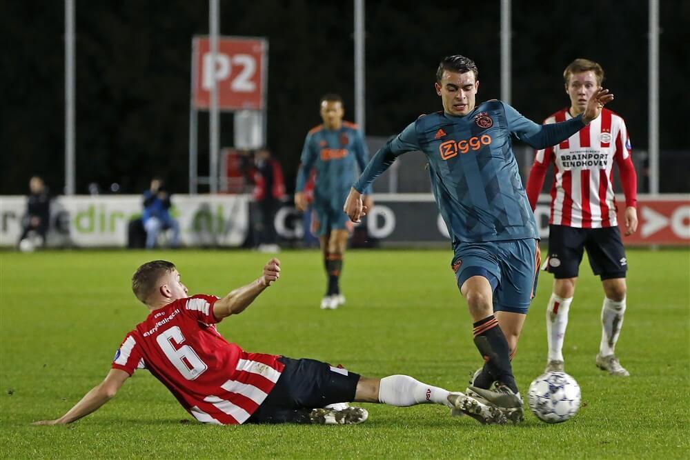 Jong Ajax loopt koppositie mis na gelijkspel tegen Jong PSV; image source: Pro Shots