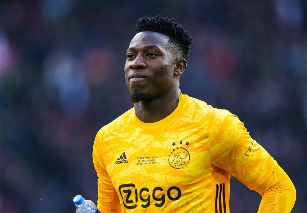 André Onana ontbreekt vanwege schouderklachten in Groningen, blessure valt mee; image source: Pro Shots