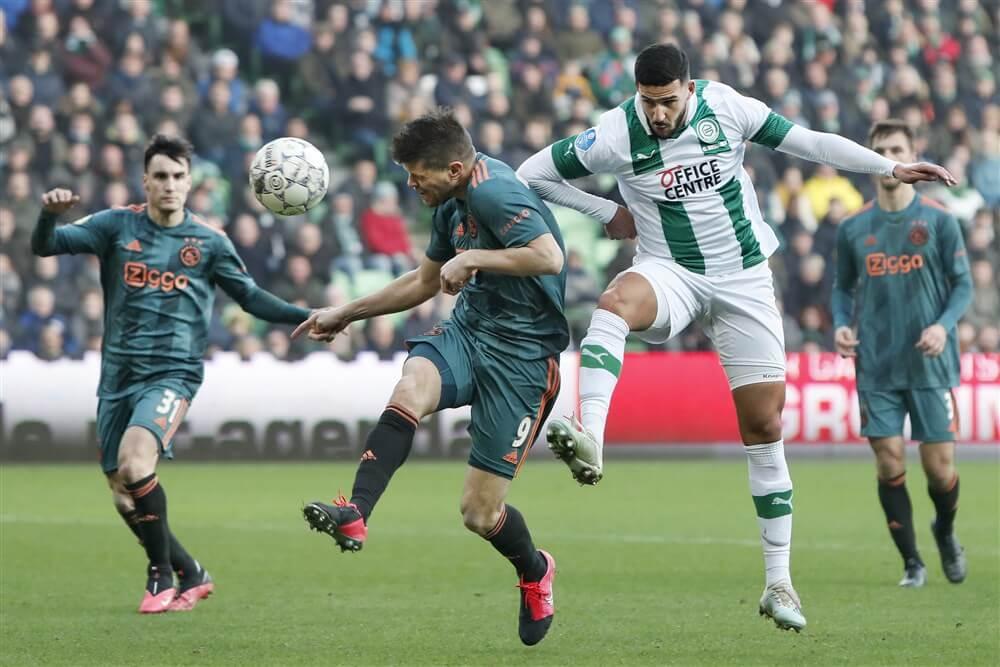 Ajax stelt teleur en verliest in Groningen; image source: Pro Shots