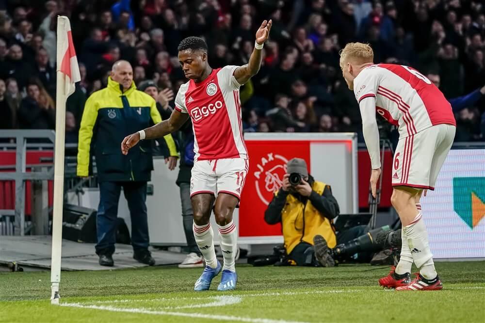 """""""Quincy Promes hervat groepstraining bij Ajax""""; image source: Pro Shots"""