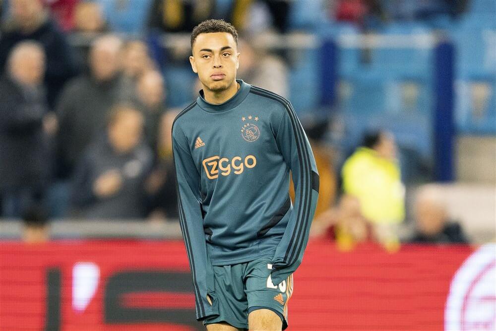 """""""Ajax wil 20 miljoen euro voor Sergiño Dest""""; image source: Pro Shots"""