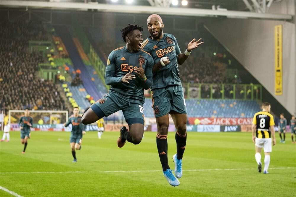 Ajax naar halve finale beker na winst tegen Vitesse; image source: Pro Shots