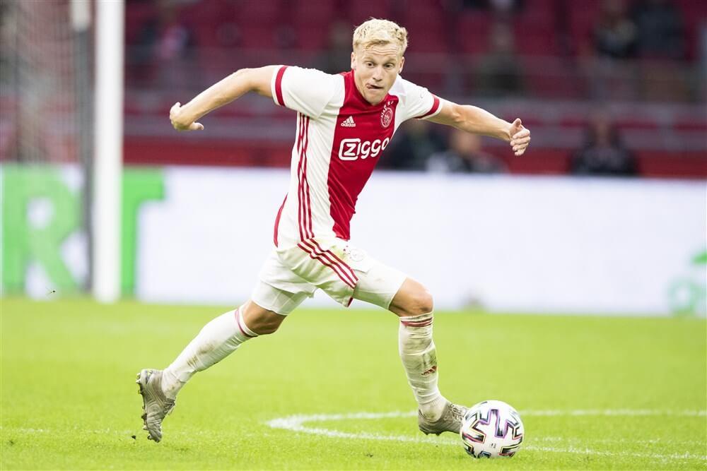 """[Update] """"Donny van de Beek én Ajax akkoord met Manchester United""""; image source: Pro Shots"""