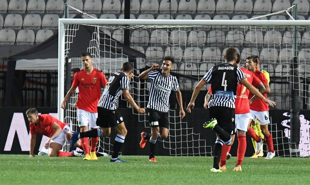 Ajax naar pot 2 in groepsfase Champions League na nederlaag Benfica; image source: Pro Shots