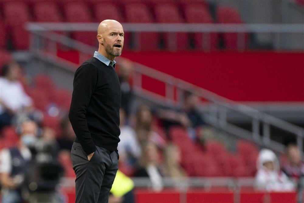 """Telegraaf: """"Onvrede binnen selectie Ajax over speelwijze en invulling van Erik ten Hag""""; image source: Pro Shots"""