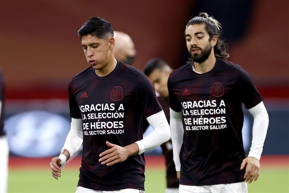 Zwak Oranje onderuit tegen Mexico van Edson Álvarez; image source: Pro Shots