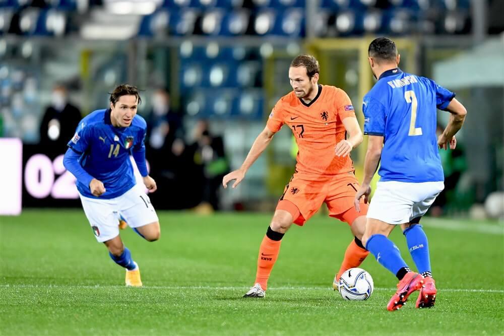 Daley Blind met Oranje gelijk tegen Italië; image source: Pro Shots