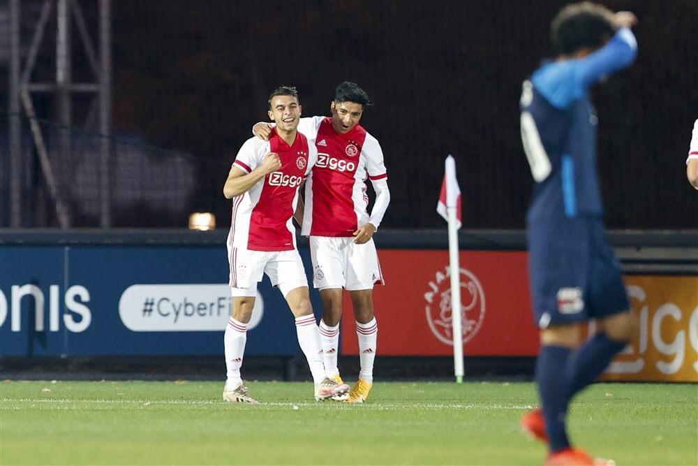 Jong Ajax met 10 man te sterk voor Jong AZ; image source: Pro Shots