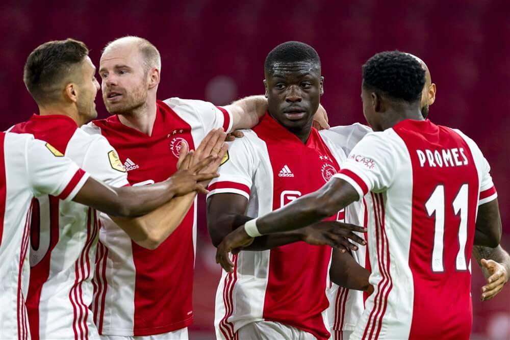 Matig Ajax wint wel met ruime cijfers van Fortuna Sittard; image source: Pro Shots