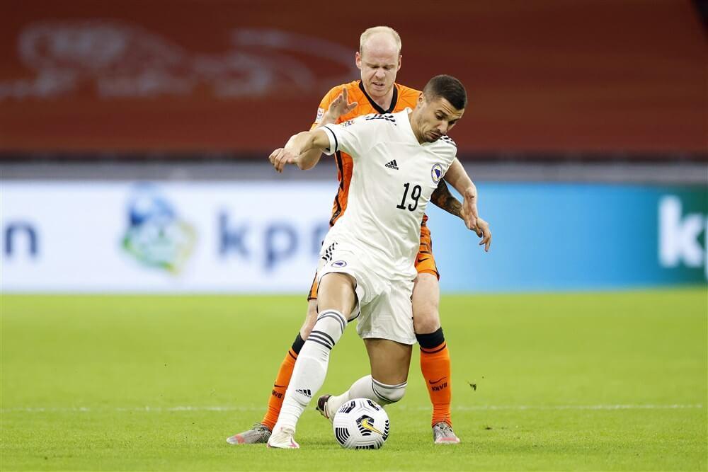 Nederlands elftal met drie Ajacieden te sterk voor Bosnië-Herzegovina; image source: Pro Shots
