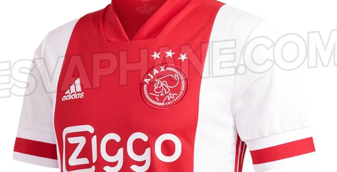 "Foto""s nieuwe thuisshirt Ajax uitgelekt; image source: Esvaphane"