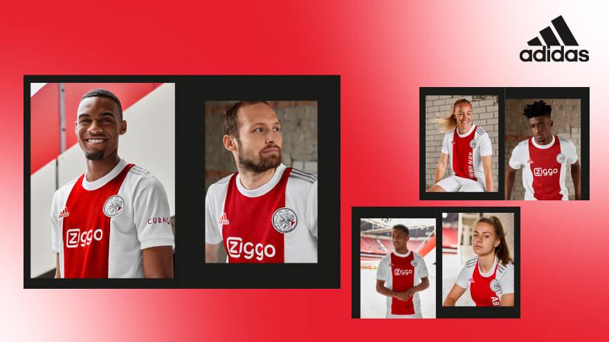 Ajax presenteert thuistenue voor komend seizoen; image source: Ajax.nl