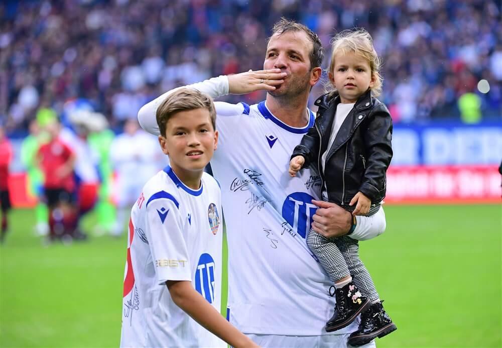 """Rafael van der Vaart: """"Ajax is wel echt goed geworden hè?""""; image source: Pro Shots"""