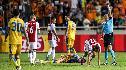 Noussair Mazraoui automatisch voor wedstrijd geschorst na twee keer geel in Nicosia