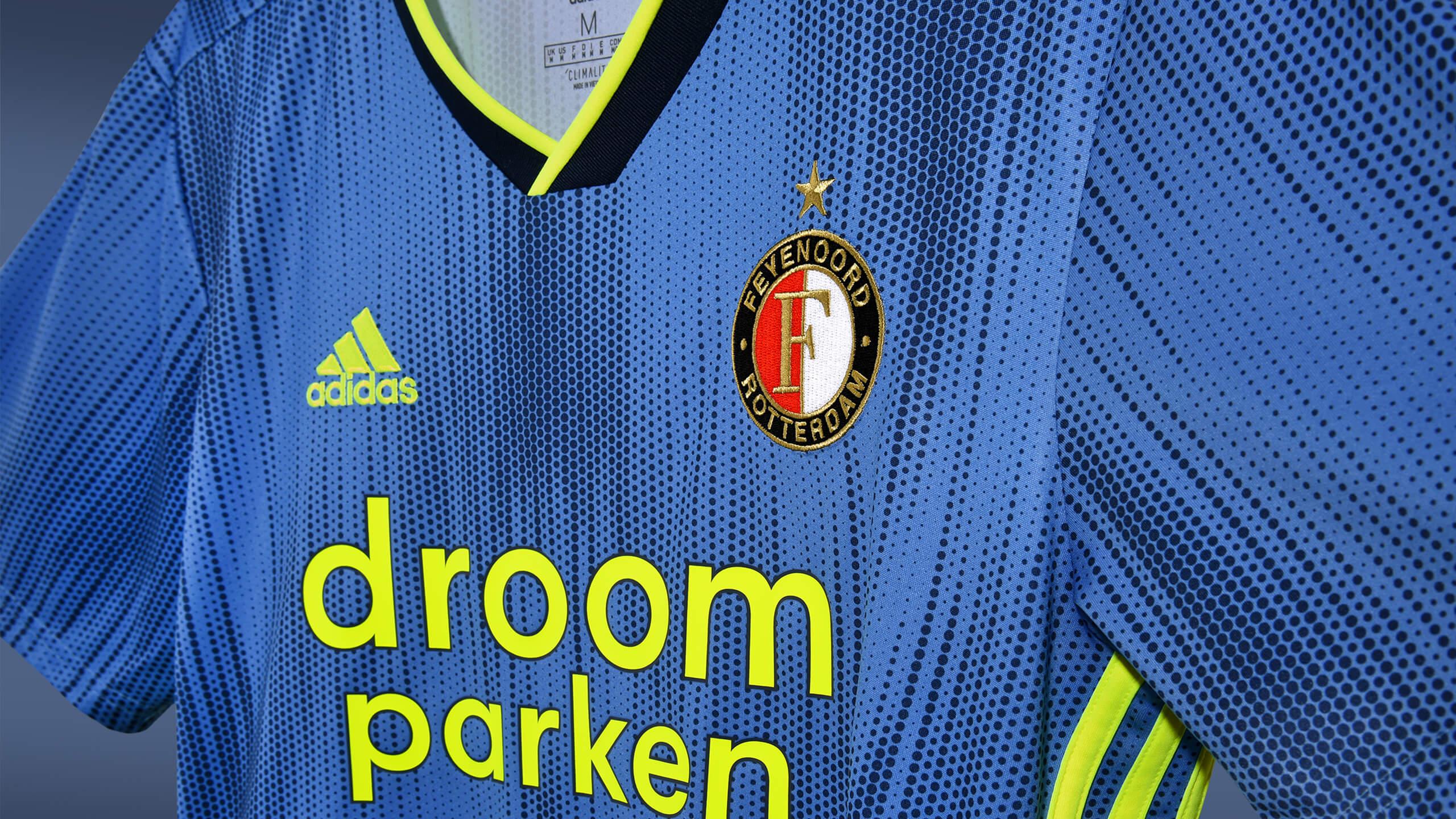 Feyenoord presenteert nieuwe uitshirt; image source: Feyenoord.nl