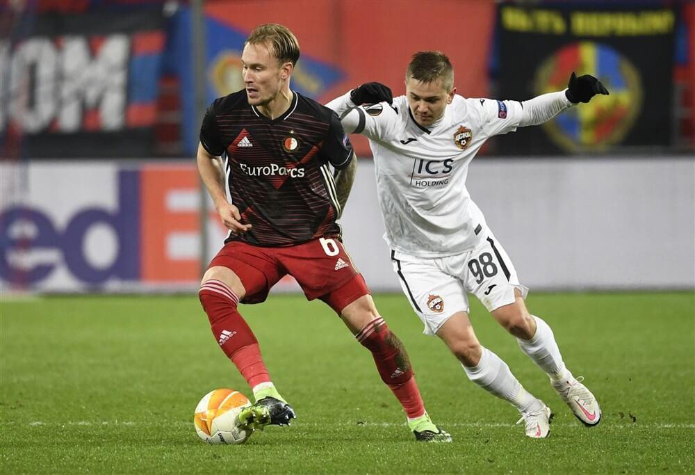 Feyenoord strijdend naar punt in Moskou; image source: Pro Shots