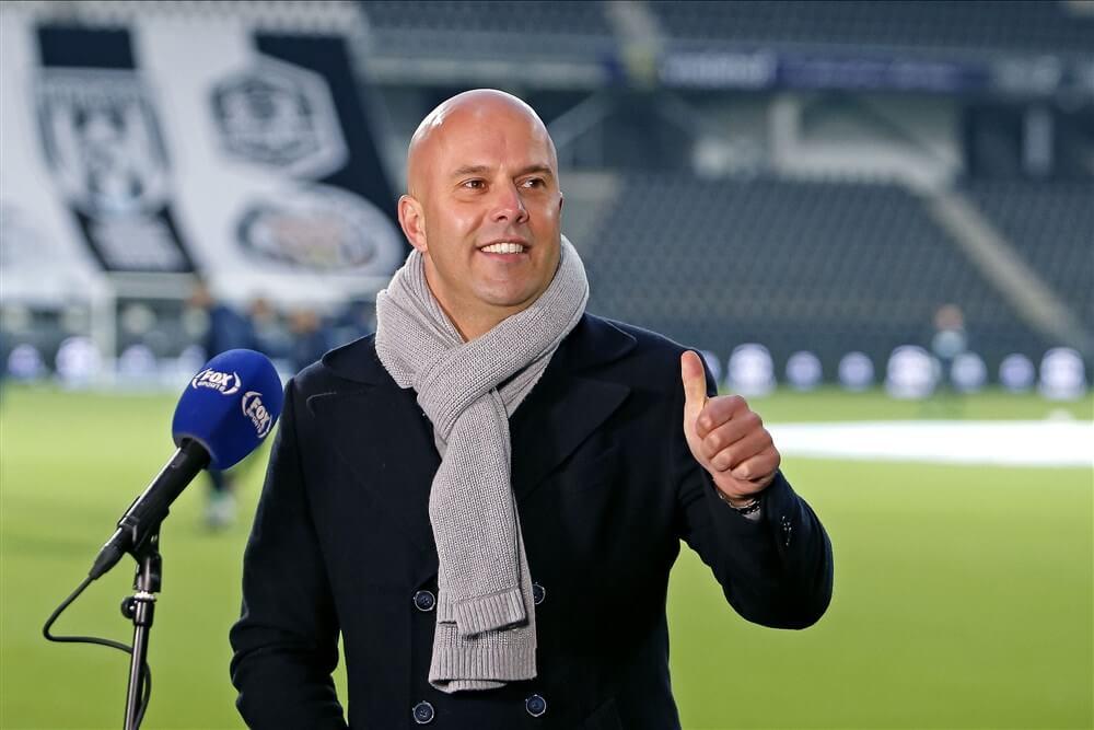 """Arne Slot: """"Ik wil kijken of het ons bij Feyenoord lukt om hier aanvallend en dominant te spelen""""; image source: Pro Shots"""