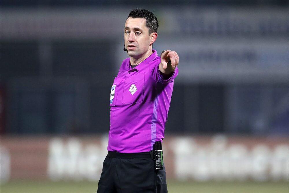 Dennis Higler scheidsrechter bij Sparta - Feyenoord, Nijhuis fluit Feyenoord - PEC Zwolle; image source: Pro Shots