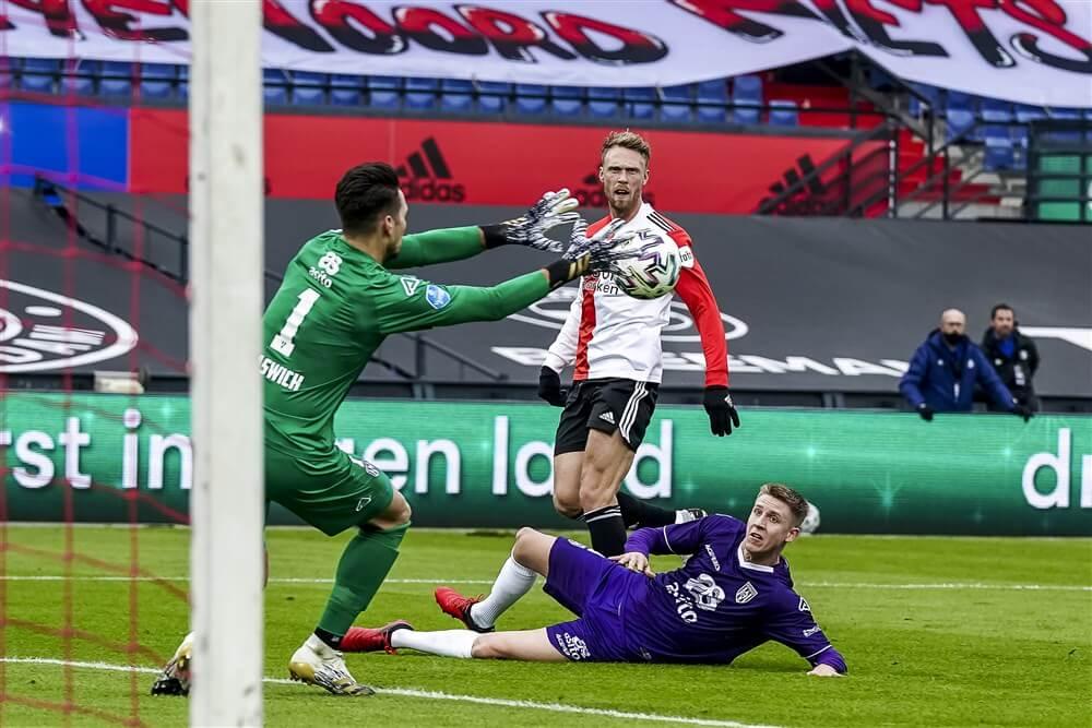 Feyenoord stelt opnieuw teleur en speelt gelijk tegen Heracles; image source: Pro Shots