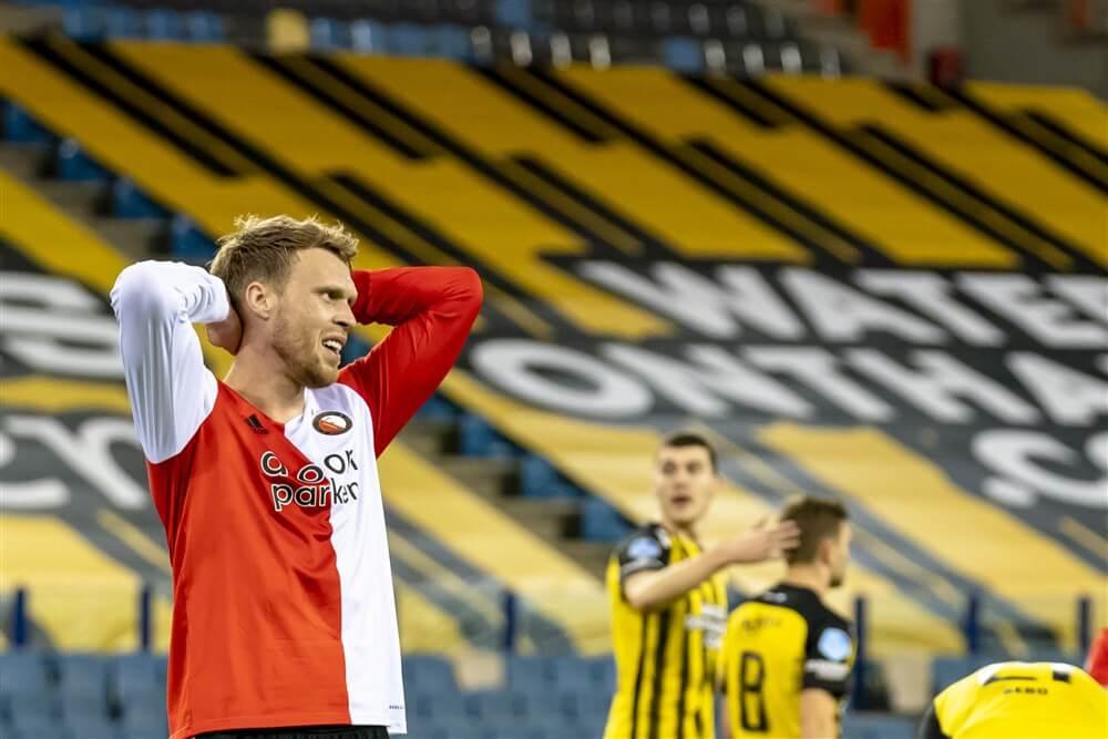 Feyenoord ondanks legio aan kansen onderuit in Arnhem; image source: Pro Shots