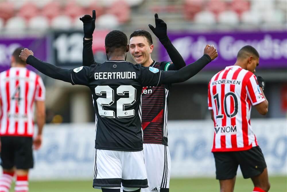 Probleemloze en zuinige zege voor Feyenoord in stadsderby; image source: Pro Shots