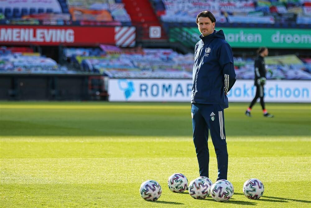 """""""Feyenoord wil langer door met Koen Stam""""; image source: Pro Shots"""