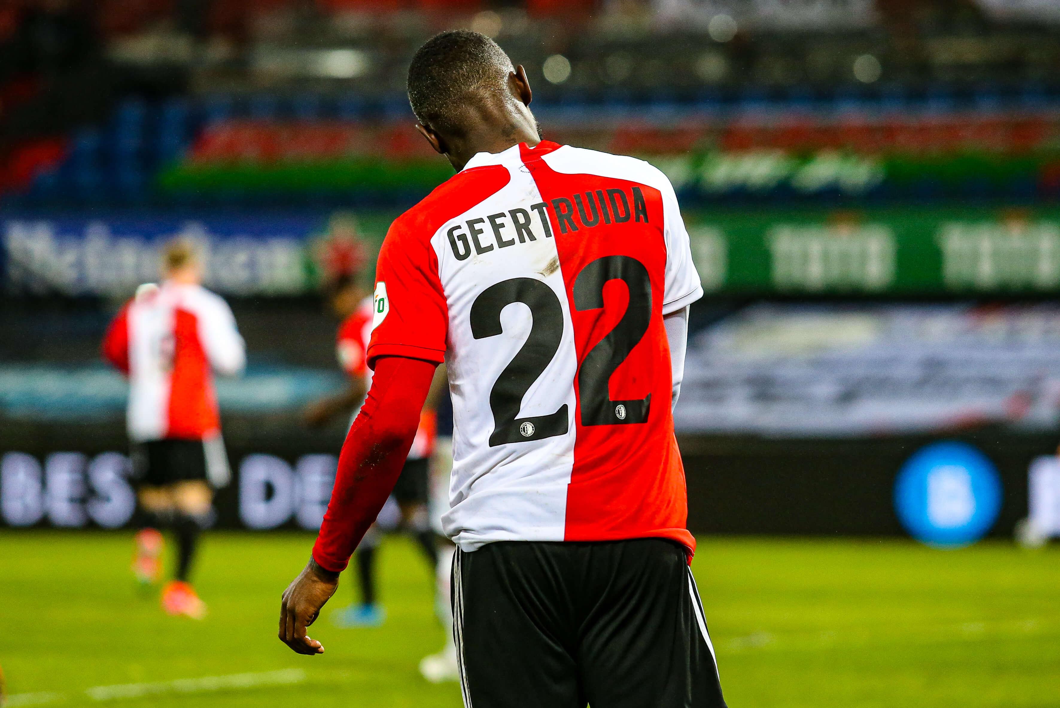 """Zaakwaarnemer Lutsharel Geertruida: """"Hij heeft de intentie om bij Feyenoord te blijven""""; image source: Pro Shots"""