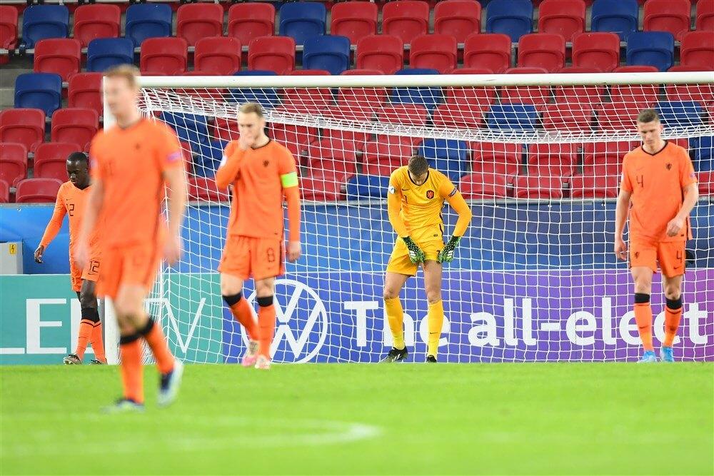 Jong Oranje opnieuw zonder Feyenoorders gelijk ; image source: Pro Shots