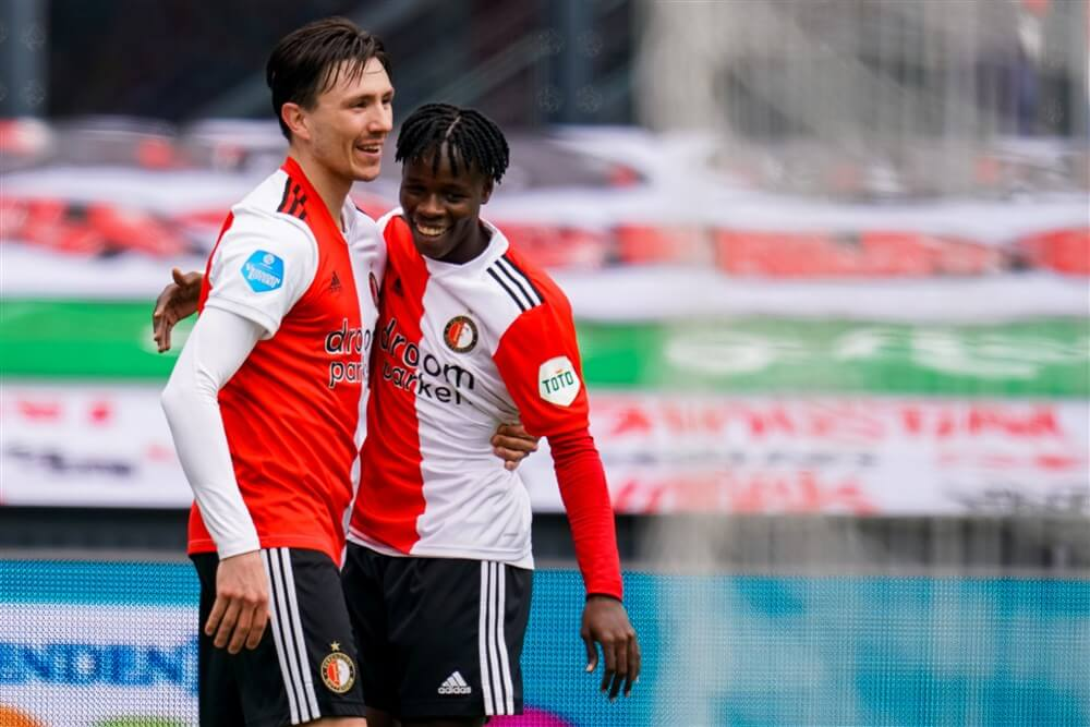 """""""Feyenoord wil contract Steven Berghuis verlengen""""; image source: Pro Shots"""