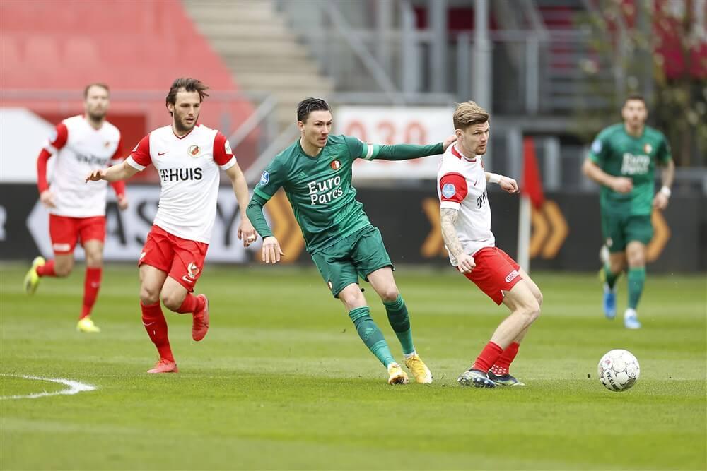 Feyenoord behaalt belangrijke zege in de Domstad; image source: Pro Shots