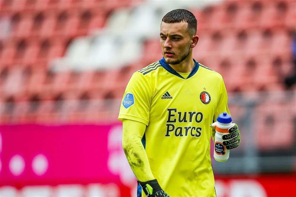 Justin Bijlow Speler van de Maand in Eredivisie; image source: Pro Shots