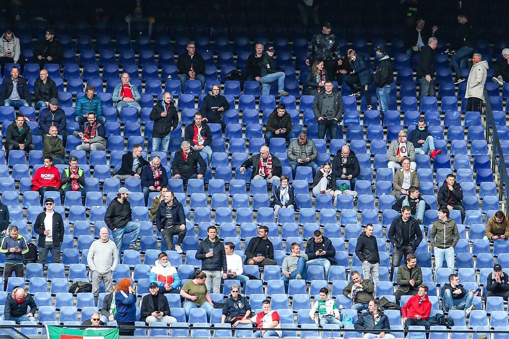 Ook geen publiek bij resterende wedstrijden in Eredivisie, mogelijk nog wel in play-offs; image source: Pro Shots
