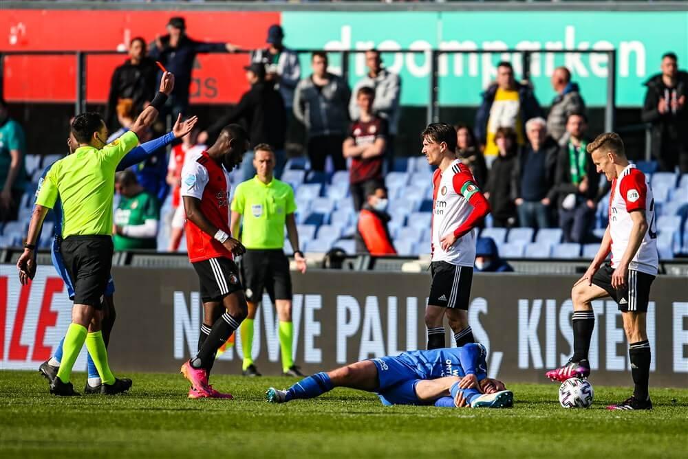 Feyenoord slechts gelijk tegen Vitesse na kortsluiting bij Steven Berghuis; image source: Pro Shots