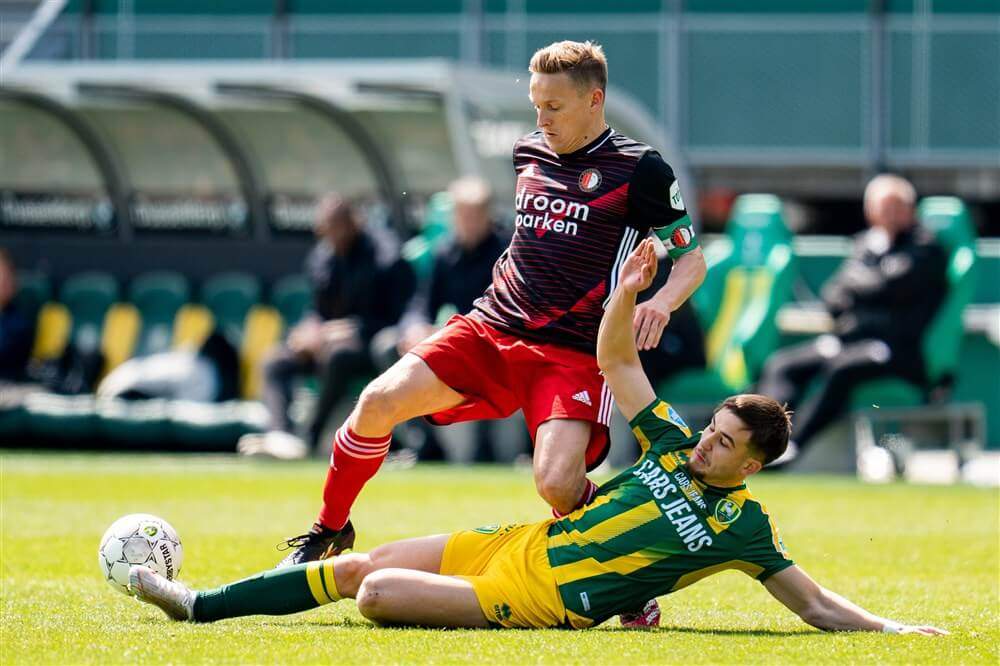 Ook Jens Toornstra geschorst tegen Ajax; image source: Pro Shots