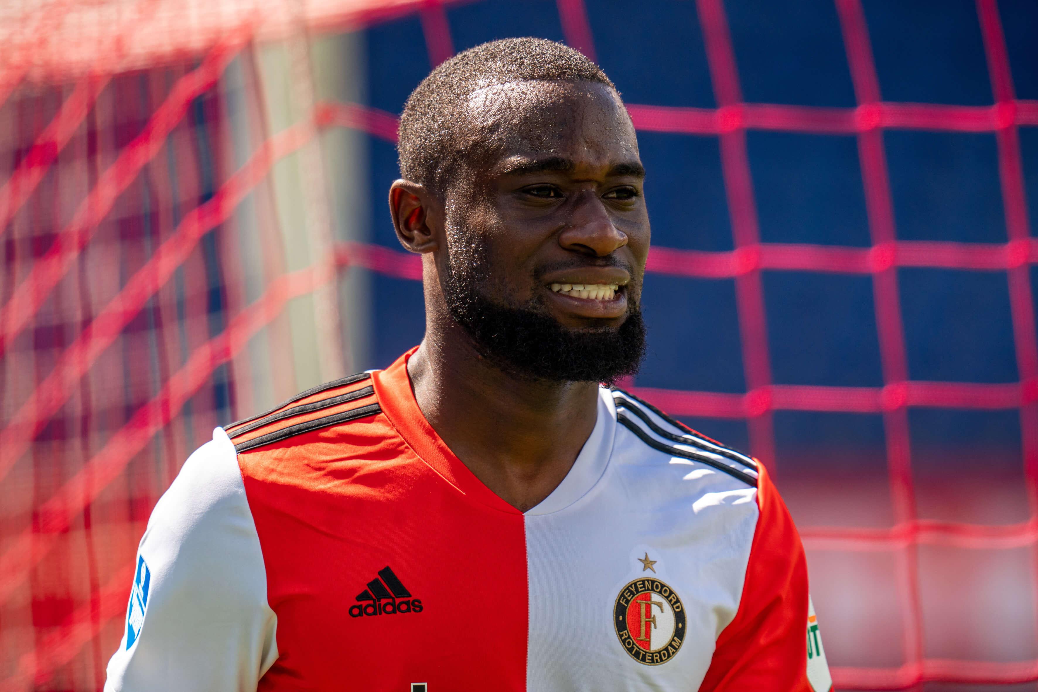 """""""Feyenoord breekt onderhandelingen met Lutsharel Geertruida over nieuw contract af""""; image source: Pro Shots"""
